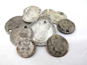 Сребърни монети за скрап